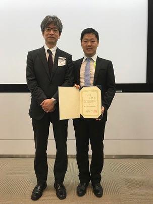 周夢然さん 溶接学会にて優秀研究発表賞を受賞